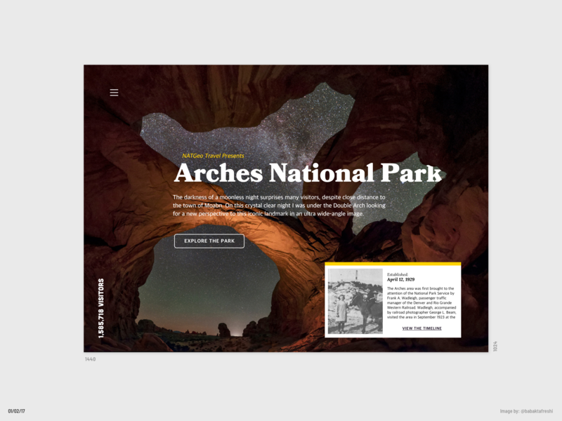 Arches National Park by Grace Anello on Dribbble