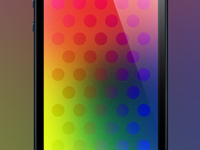 Dots huze dots background color rainbow game ios