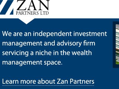 Zan Partners LTD, redesign investor redesign site blue hero