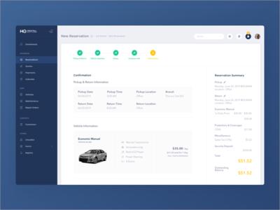 HQ Rental Software App