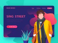 SING STREET Illustration -2