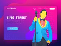 SING STREET Illustration -3