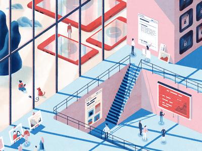 The many ways people use Dropbox illustration features ecosystem dropbox