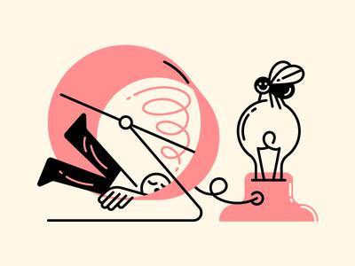 Productivity kills creativity