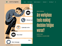 Are workplace tools making decision fatigue worse?
