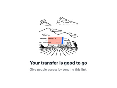 Dropbox Transfer / success