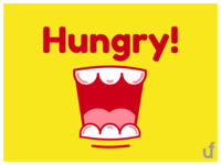 Hungry - Logo