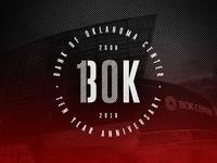 BOK Center - 10 Year Anniversary Badge