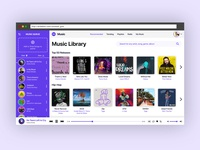 Music Player Design - Daily UI Challenge 009/100