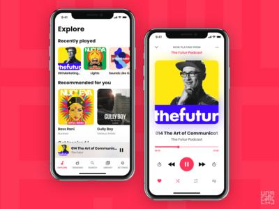 Music App - UI/UX Design