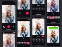 Photo Editing App - All Screens