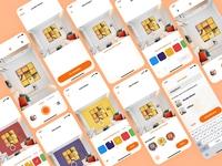 Paint AI App UI/UX Design - All Screens