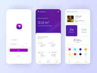 Inkjet Dashboard App Redesign