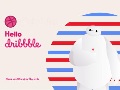 Hello Dribbble...!