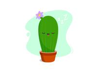 Cactus - Shhh! It's sleeping