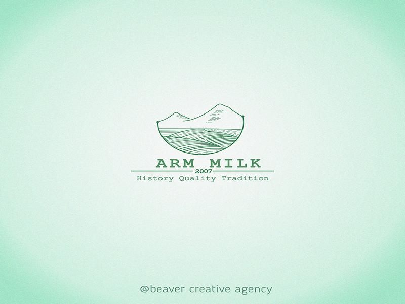 Logo Design for Dairy Production design logo design icon concept abstract minimalism branding logo