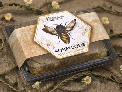 Unique packaging design animation logo brown bee product branding brand design packaging minimalist realistic