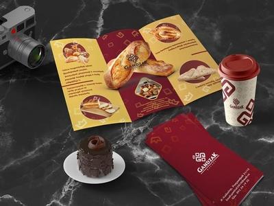 Gandzak Brand Identity logo design concept photoshoot armenia bakery logo bakery corporate brochure corporate branding corporate mockup packaging logotype graphic design brand concept logo design packaging design logo design branding brand identity