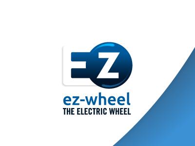 EZ Wheel Logo french startup high tech logotype