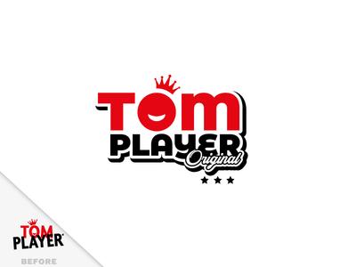 Lifting logo Tom Player tom sawyer childrens playground logo