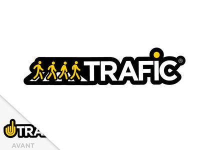 Trafic new icon street furniture traffic logo