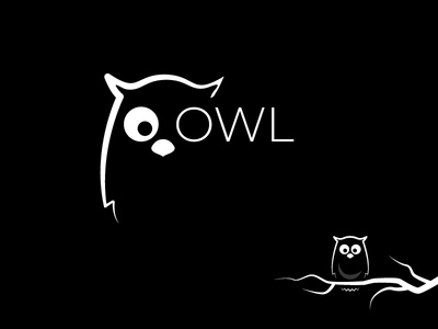 Owl owl logo logo animal owl