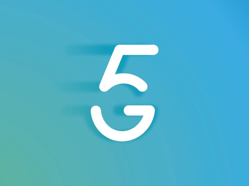 5G logo v2 technology network mobile network logo