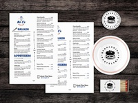 Bites Food Menu Template PSD