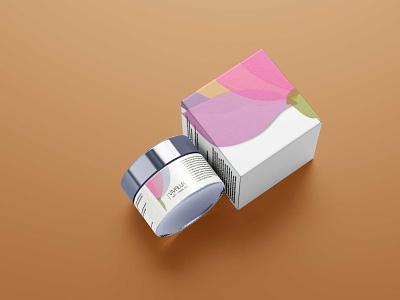 Cream Jar Packaging Mockup logo illustration design mockup psd download mock-ups download mock-up download mockup mockups psd mockup packaging jar cream
