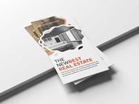 Real Estate Psd Tri Fold Brochure Template