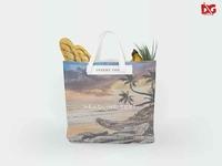 Free Chalk Bag PSD Mockups