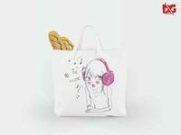 Free Eco Bag Mockup