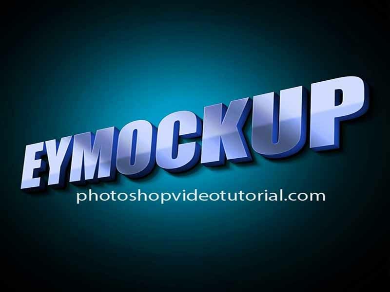 3D Glow Logo MockUps by Arun Kumar on Dribbble