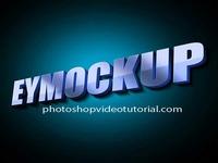 3D Glow Logo MockUps