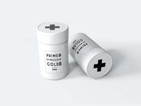 New Small Pills Packaging Mockup