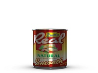 Cool Juice Packed Can Label Mockup