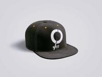 Free Branding Cap Logo Mockup