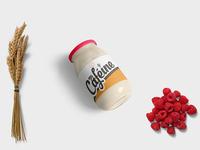 New Peanut Butter Jar Presentation Mockup