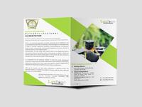 Graduation Bi Fold Brochure Design Template