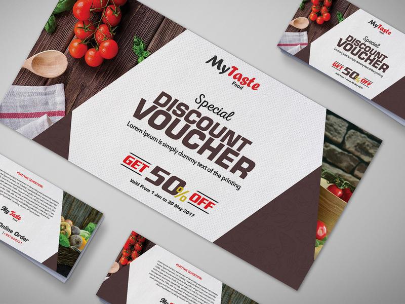 Japanese Food Gift Voucher Design Template design design design psd template psd templates download psd download 2018 download psd