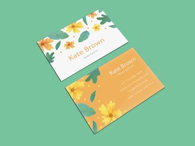 Premium New Business Card Mockups