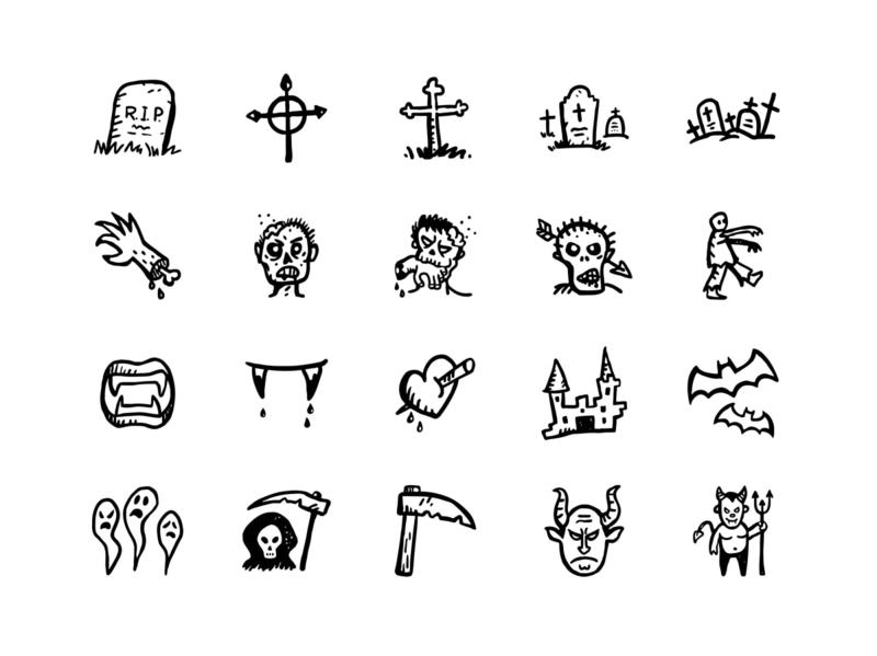 Free Halloween Icons Sets psd mockups mockup psd download mock-up mockup download mock-ups download mockup
