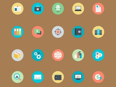 Free Professional Business Icon Bundle