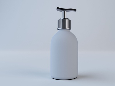 Cosmetic Bottle Model