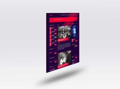 Free Web Page PSD Mockup
