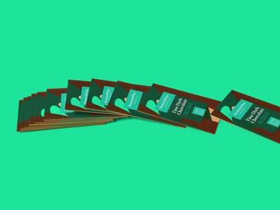 Free Nice Business Card Mockup