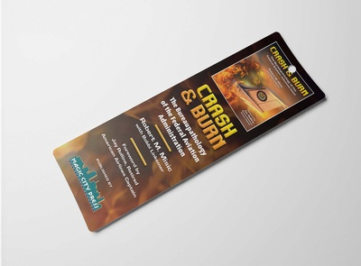 Free PSD Bookmark Design Mockup