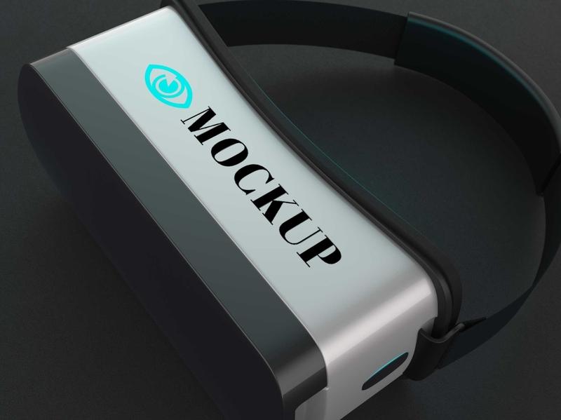 Free Google VR Daydream Template Mockup mockups psd download mock-up mockup mock-ups download download mockup