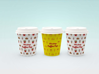 White And Yellow Coffee Cup Mockup logo illustration design download mock-ups mockup psd download mock-up download mockup mockups psd mockup cup coffee yellow white