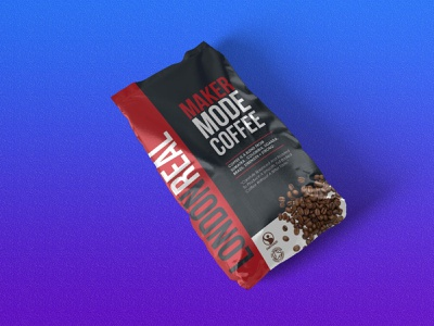 Red And Black Coffee Pouch Mockup logo illustration design download mock-ups mockup psd download mock-up download mockup mockups mockup psd pouch coffee black red